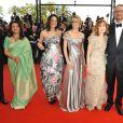 Le jury montent les marches pour l'ouverture du 62e Festival de Cannes