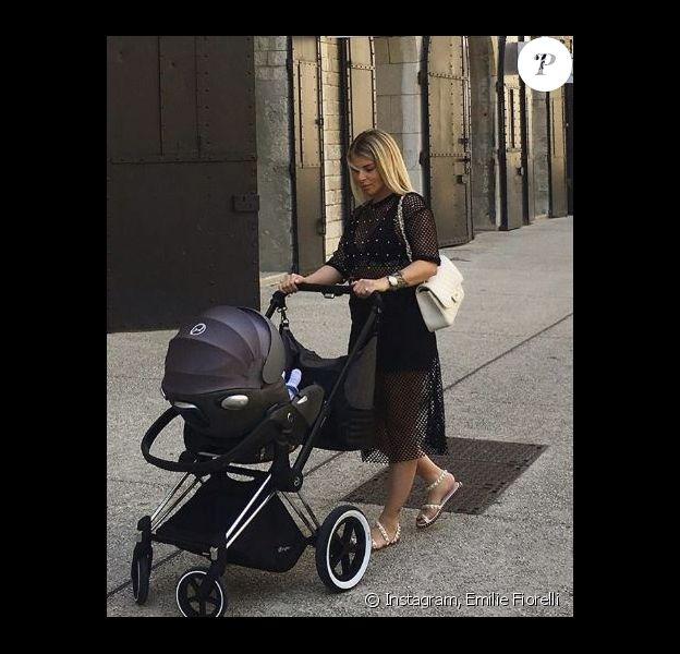 Emilie Fiorelli et sa fille Louna - Instagram, 15 juin 2018