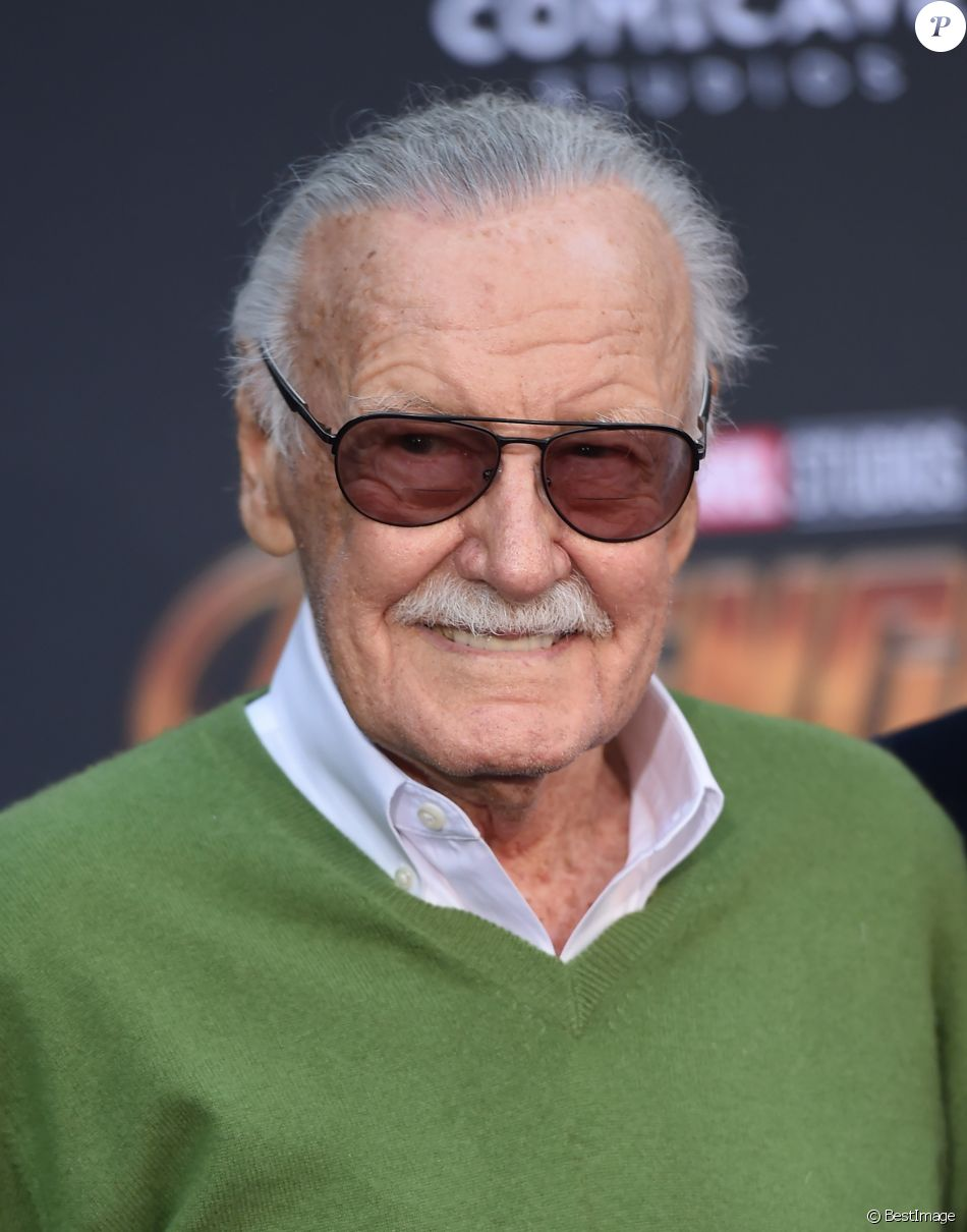 "Stan Lee à la première de ""Avengers: Infinity War"" au théâtre El Capitan à Hollywood, le 23 avril 2018 © Chris Delmas/Bestimage"