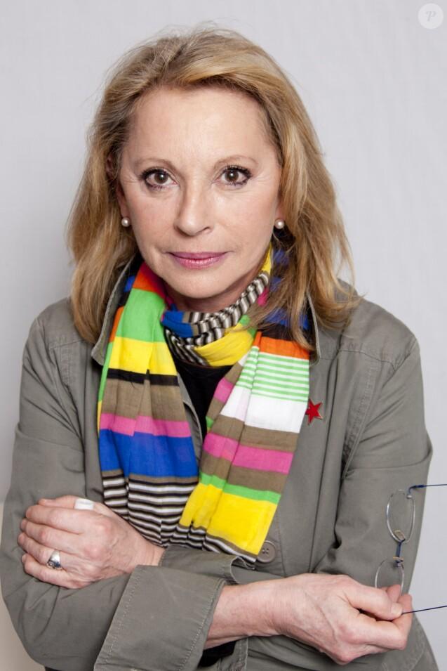 """Véronique Sanson - People à l'émission de radio """"On repeint la musique"""" à Paris, le 16 mai 2012"""
