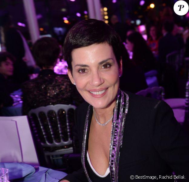 Cristina Cordula - 16ème soirée Sidaction dans la salle de réception du Pavillon d'Armenonville à Paris, France , le 25 janvier 2018. © Rachid Bellak/Bestimage