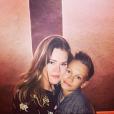 Camille Gottlieb et son demi-frère Thomas Gottlieb, fils de Jean-Raymond Gottlieb, photo Instagram 5 novembre 2017.