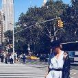 "Camille des ""Reines du shopping"" sexy à New York - Instagram, 28 septembre 2017"