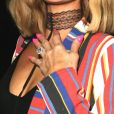 """Paris Hilton, récemment fiancée et arborant sa bague de fiançailles, quitte le restaurant mexicain """"The Highlight Room"""" à Los Angeles. Le 21 mars 2018 © CPA / Bestimage"""