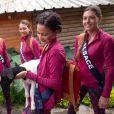 Les 30 Miss régionales ont débuté leurs activités à l'Île Maurice. Le 22 novembre 2018, c'était pont suspendu et tyrolienne sur 1,5 km !