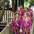 Les 30 Miss régionales tout sourire ont débuté leurs activités à l'Île Maurice. Le 22 novembre 2018, c'était pont suspendu et tyrolienne !