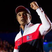 Coupe Davis : Yannick Noah soutenu par son clan avant de tirer sa révérence