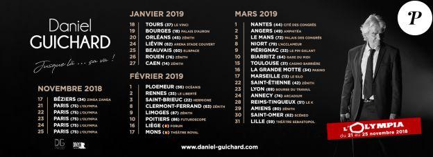 Daniel Guichard en tournée dans toute la France