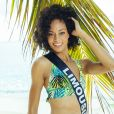 Miss Limousin en maillot de bain lors du voyage Miss France 2019 à l'île Maurice, en novembre 2018.