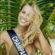 Miss Champagne-Ardenne en maillot de bain lors du voyage Miss France 2019 à l'île Maurice, en novembre 2018.