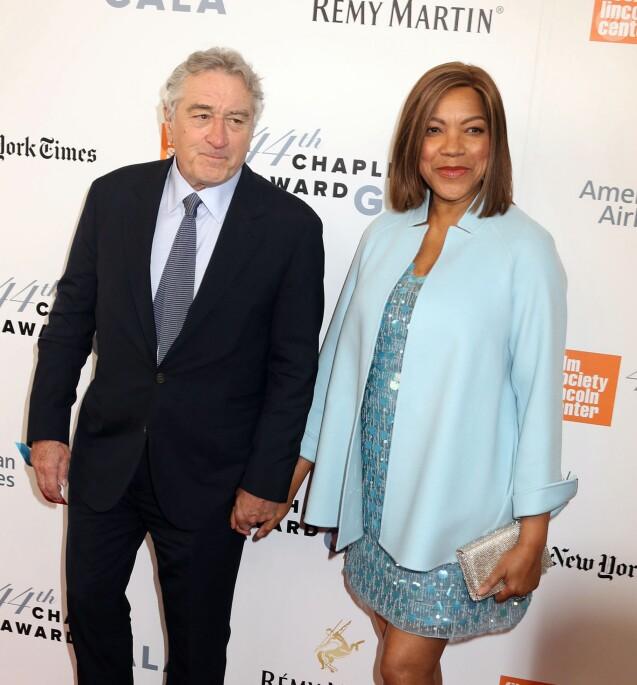 Robert de Niro et sa femme Grace Hightower à la 44ème soirée Chaplin Award avec comme invité d'honneur R. De Niro au Lincoln Center à New York, le 8 mai 2017 © Nancy Kaszerman via Zuma/Bestimage