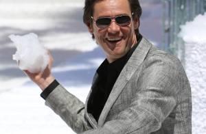 Grâce à Jim Carrey, il neige en plein mois de mai... sur la Croisette ! Regardez !