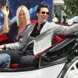 Jim Carrey et Jenny McCarthy lors du photocall un peu particulier de Christmas Carol (Le drôle Noël de Scrooge) à Cannes, le 18 mai 2009