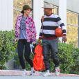 Info - Katie Holmes et Jamie Foxx devraient se marier à Paris en 2019 - Exclusif - Katie Holmes et son compagnon Jamie Foxx sont allés jouer au basket en amoureux le jour de la St Valentin à Los Angeles, le 14 février 2018