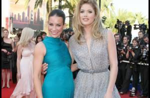 Evangeline Lilly et Doutzen Kroes : deux L'Oréal Girls radieuses sur le tapis rouge !