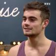 """Iris Mittenaere et Clément Rémiens lors des répétitions de la finale de """"Danse avec les stars 9"""" sur TF1."""