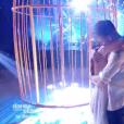 """Clément Rémiens et Denitsa lors de leur dernière danse de finale, le 1er décembre 2018 dans """"Danse avec les stars 9""""."""