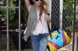Lindsay Lohan a passé la nuit... chez son ex, Samantha Ronson ! Le réveil est difficile ! Regardez !