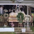 Enterrement de Kim Porter à Evergreen, dans le Colorado. Le 24 novembre 2018.