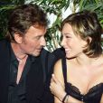 Johnny Hallyday et Laura Smet en 2003.