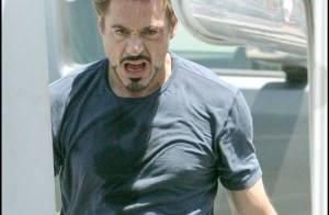 Robert Downey Jr. s'est fait taper en plein tournage ! Il est blessé ! Regardez !