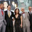Joe Namath, Jerry Seinfeld, Gloria Estefan, Eric R. Kandel et Emilio Estefan aux Ellis Island Family Heritage Awards 2009.