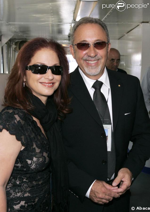 Gloria Estefan et son époux Emilio aux Ellis Island Family Heritage Awards 2009.
