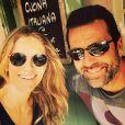 Sandrine Corman enceinte de son deuxième enfant. Elle a passé le week-end à Saint-Tropez avec son chéri. Juin 2015.