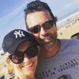 Sandrine Corman et son mari, le 2 novembre 2018.