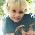 Sandrine Corman et son fils Harold, le 16 octobre 2018.