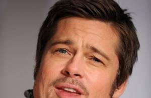 Brad Pitt, plus séduisant que jamais, défend avec Quentin Tarantino les ''Inglourious Basterds'' !