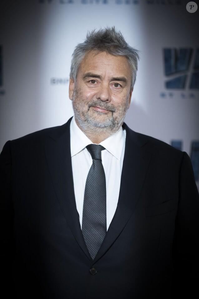 """Luc Besson - Avant-première du film """"Valérian et la Cité des mille planètes"""" de L. Besson à la Cité du Cinéma à Saint-Denis, le 25 juillet 2017. © Olivier Borde/Bestimage"""