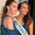 Vaimalama Chaves (Miss France 2019) et sa cousine Mareva George, épouse de Paul Marciano et Miss France 1991.
