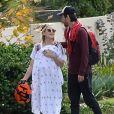 Exclusif - Kate Hudson se promène avec ses enfants Ryder, Bingham et Rani à Los Angeles le 9 décembre 2018.