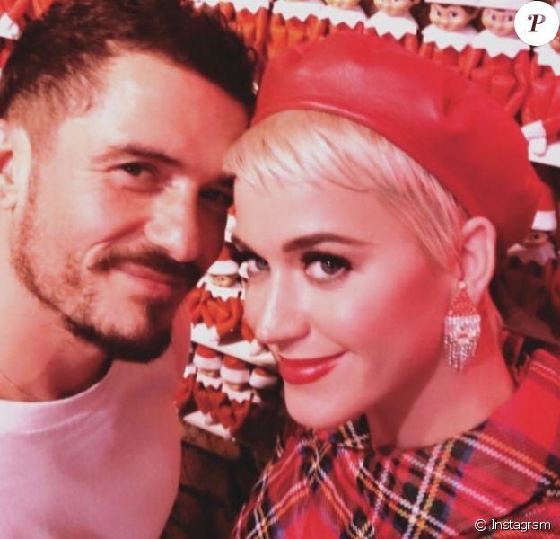 Orlando Bloom et Katy Perry au musée Fa La Land à Los Angeles le 16 décembre 2018