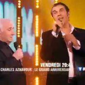 Charles Aznavour : pour ses 85 ans, il a invité Carla Bruni, Line Renaud, Amandine Bourgeois et Emmanuel Moire ! La fête a lieu ce soir : regardez la bande-annonce !