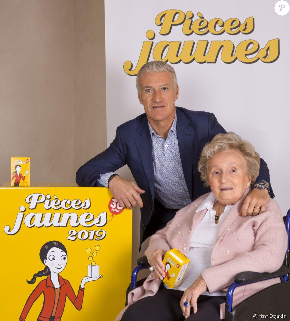 Bernadette Chirac et Didier Deschamps lancent la nouvelle opération Pièces Jaunes 2019.
