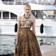 Natasha Poly à Cannes hier après-midi