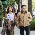 Exclusif - Brooklyn Beckham et Hana Cross à Beverly Hills. Le 17 décembre 2018.