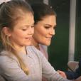 Image extraite de la vidéo de la princesse héritière Victoria et du prince Daniel de Suède avec leurs enfants la princesse Leonore et le prince Oscar pour les fêtes de fin d'année 2018.