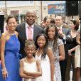 Forest Whitaker et sa femme Keisha avec leurs filles à Hollywood en 2007.