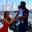 Ariane Brodier son compagnon et leur fils - Instagram, 22 juillet 2018