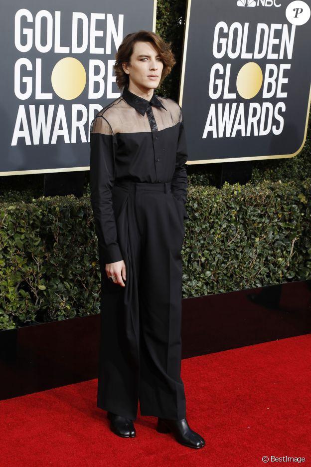 Cody Fern - 76e cérémonie annuelle des Golden Globe Awards au Beverly Hilton Hotel à Los Angeles, le 6 janvier 2019.