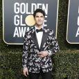 Darren Criss en Dior Homme 76e cérémonie annuelle des Golden Globe Awards au Beverly Hilton Hotel à Los Angeles, le 6 janvier 2019.