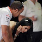 Nicole Scherzinger et Lewis Hamilton, leur première mésentente...à cause d'une voiture ! Regardez !