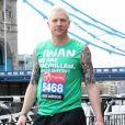 Iwan Thomas, l'ancien athlète et champion olympique, donne des nouvelles de son fils né prématuré, le 29 décembre 2018. Ici au marathon de Londres en 2013.
