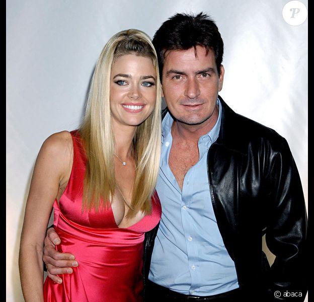 Denise Richards et Charlie Sheen, quand ils s'aimaient encore...