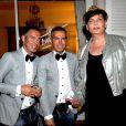 """Dean et Dan Caten   à la soirée Schweppes à Cannes le 20 mai dernier avec  <span style=""""font-size: 12px;"""