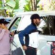 Exclusif - Eva Longoria et son mari Jose Baston sont allés déjeuner à l'hôtel Beverly Hills. Le 13 janvier 2019