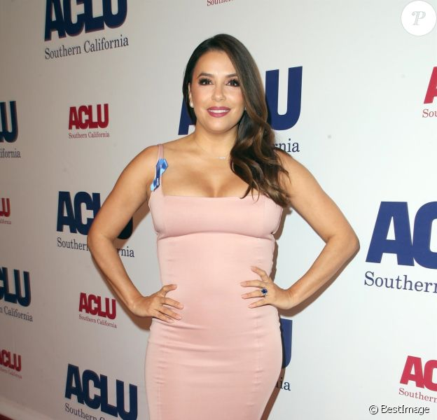 Eva Longoria à la soirée ACLU Bill of Rights à l'hôtel The Beverly Wilshire à Beverly Hills, le 11 novembre 2018